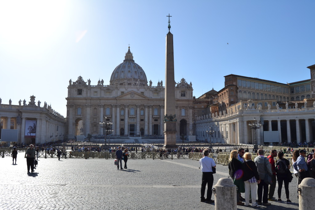 Exploring Vatican City over Easter Weekend