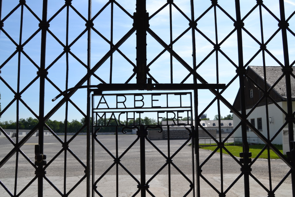 Visiting the Dachau Concentration Camp