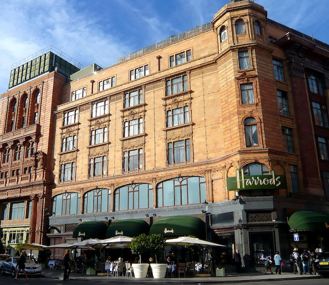 Window Shopping in Harrods: The Dream Life