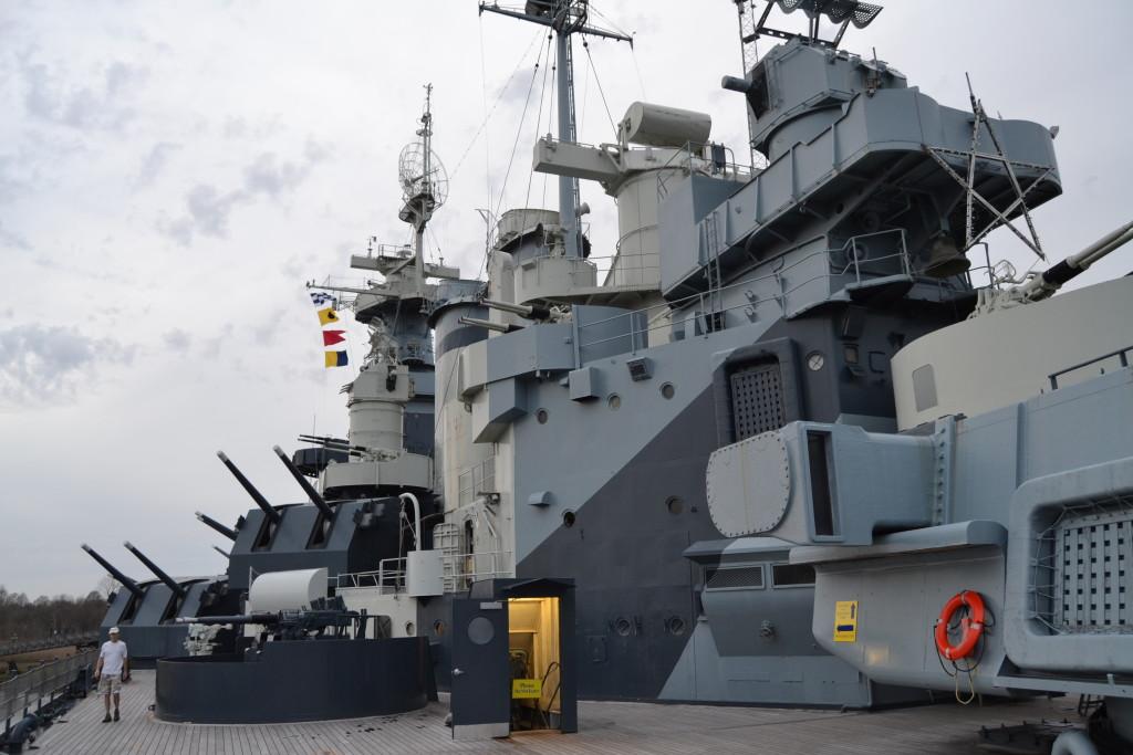 Touring the USS North Carolina