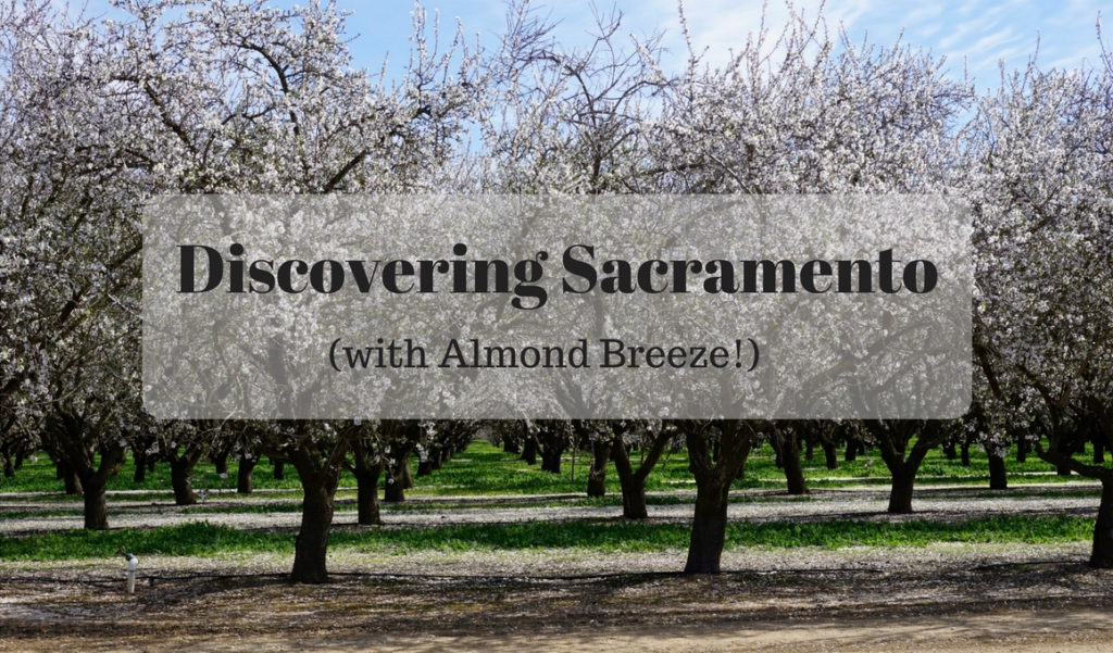 Discovering Sacramento with Almond Breeze (Vlog)