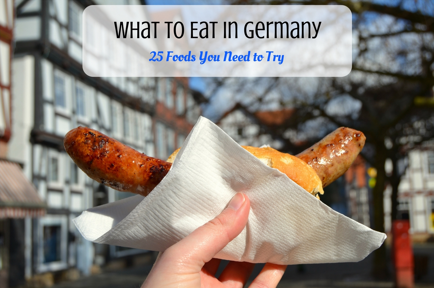 what to eat in germany