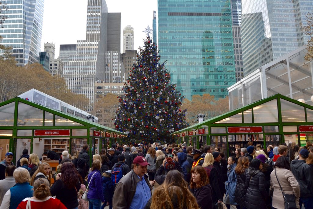 Get in the Holiday Spirit With This NYC Christmas Tree Crawl